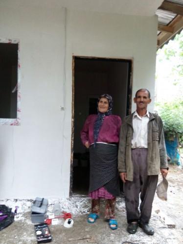 خانه دار شدن زن 97 ساله گیلانی (9)