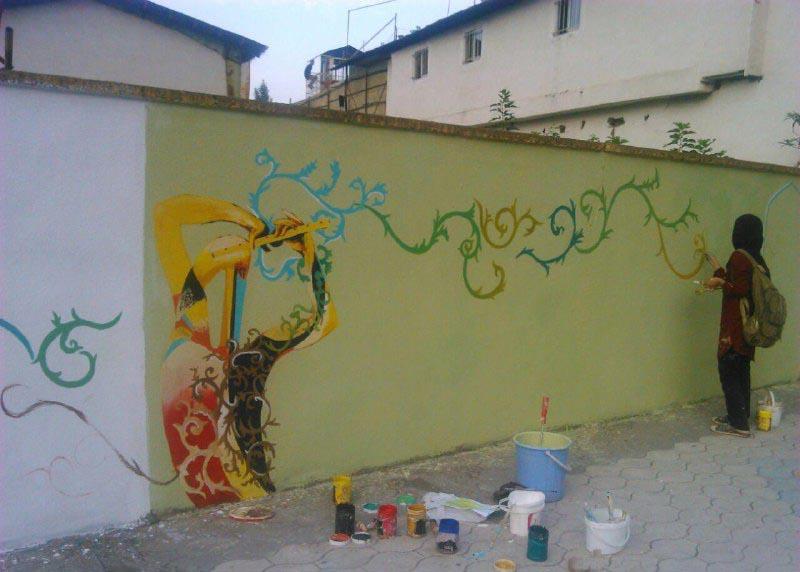جشنواره نقاشی دیواری (3)