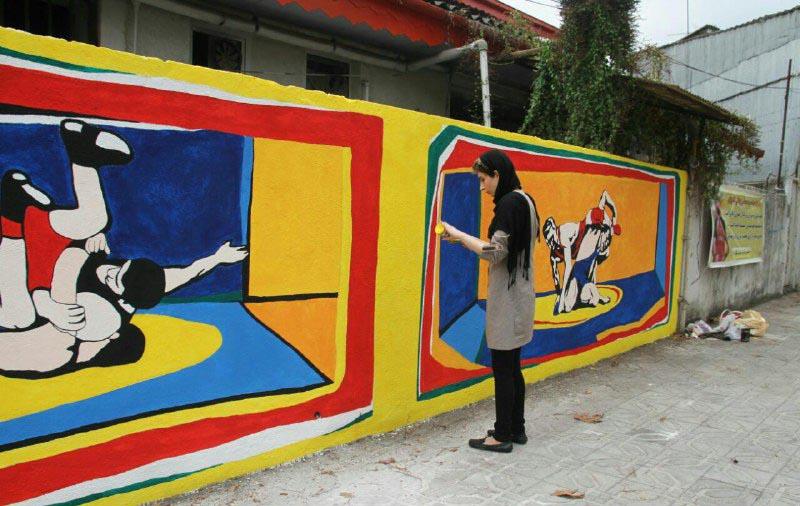 جشنواره نقاشی دیواری (5)