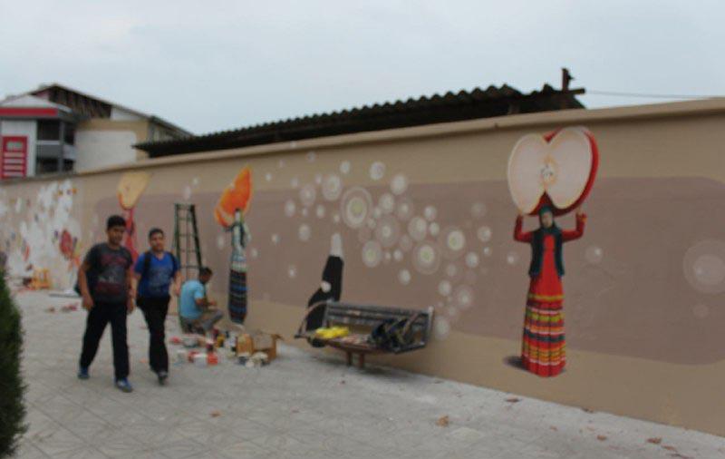 جشنواره نقاشی دیواری (8)