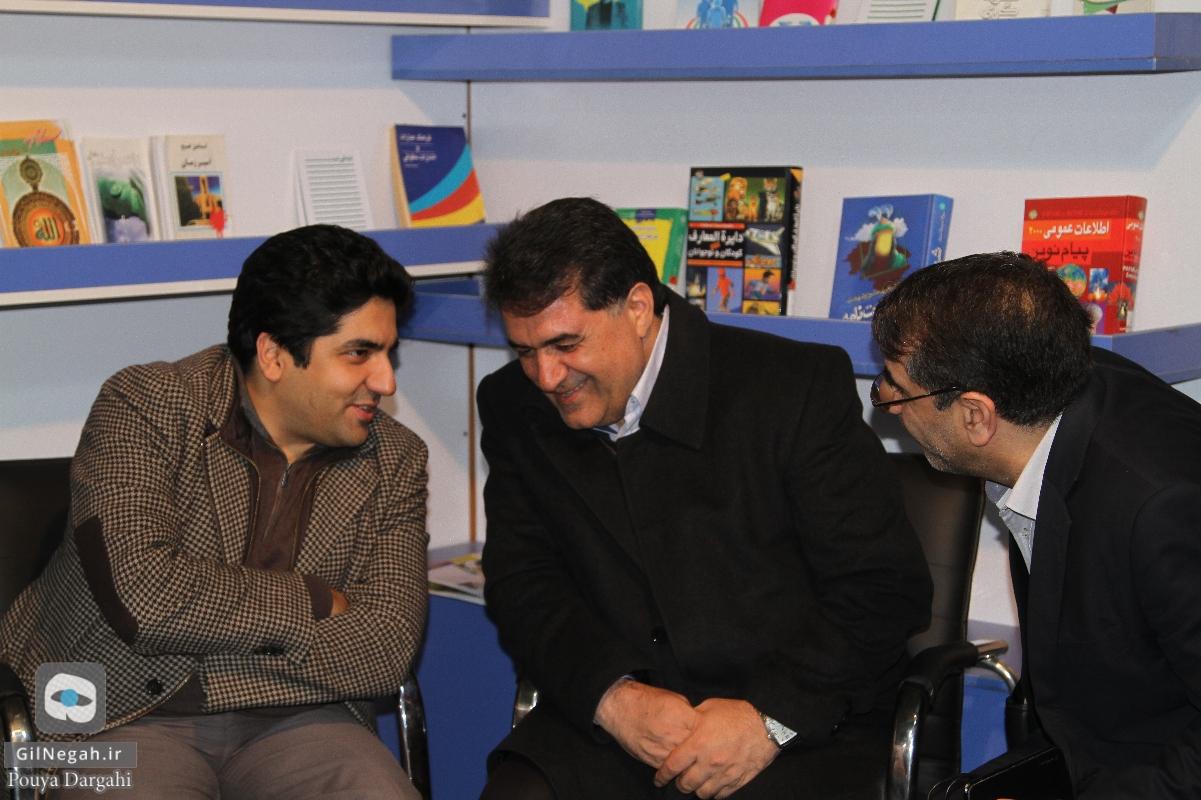 بازدید شهردار از نمایشگاه کتاب (8)