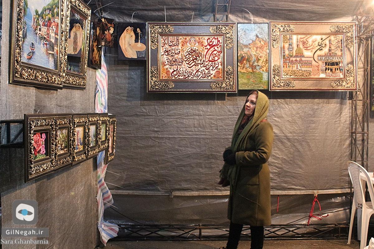 نمایشگاه سوغات و صنایع دستی گیلان (3)