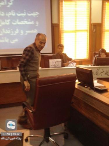 ثبت نام کاندیداهای مجلس و خبرگان رشت فرخ نیازمهر (4)