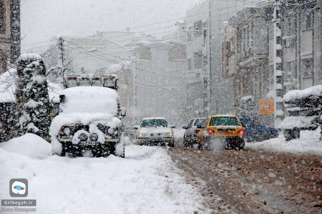 برف لاهیجان (9)