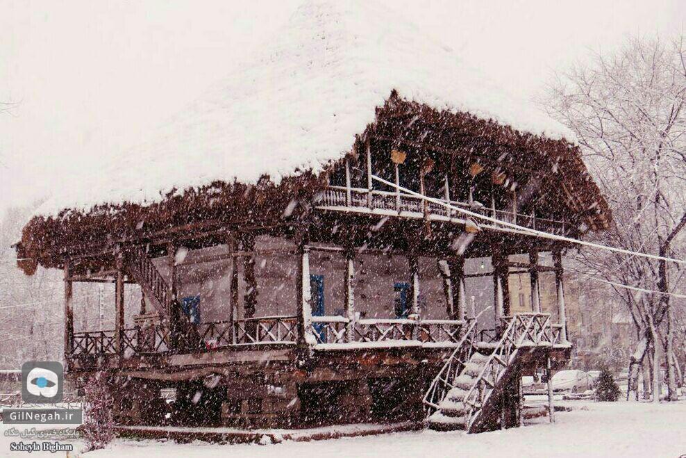 برف پارک ملت رشت (7)