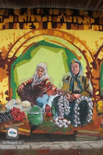 نقاشی دیواری رشت (4)