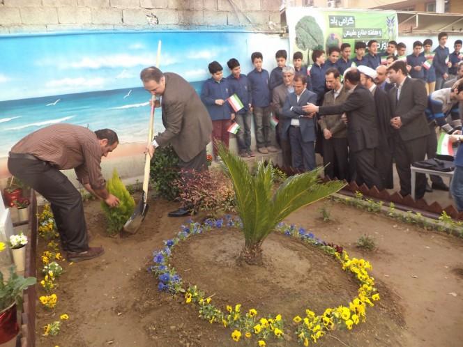 مراسم روز درختکاری سما  گیلان (3)