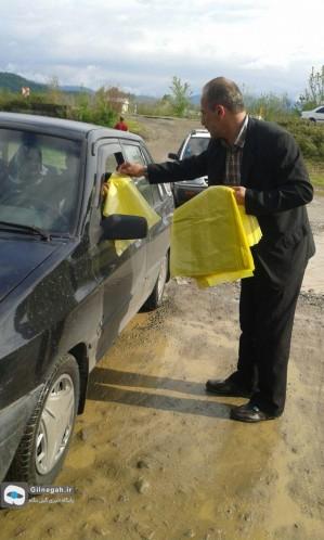 توزیع کیسه زباله شفت (7)