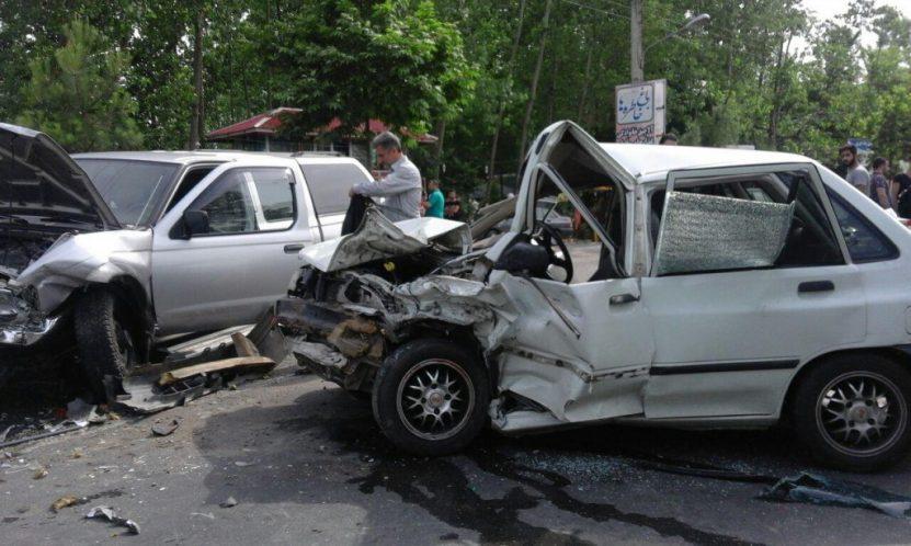تصادف جاده ماسوله (2)