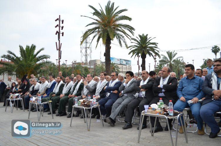 افتتاح المان شهدای ذهاب رشت (8)