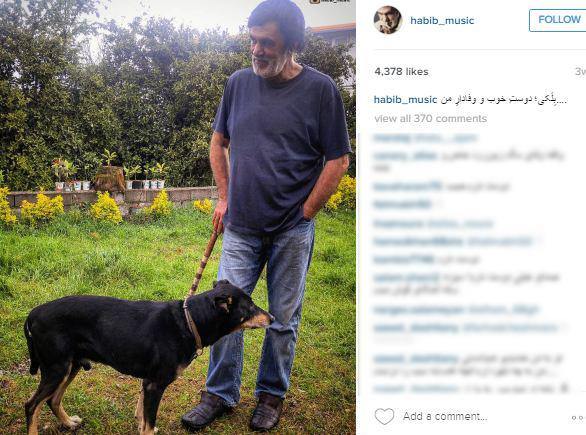 حبیب و سگش (1)