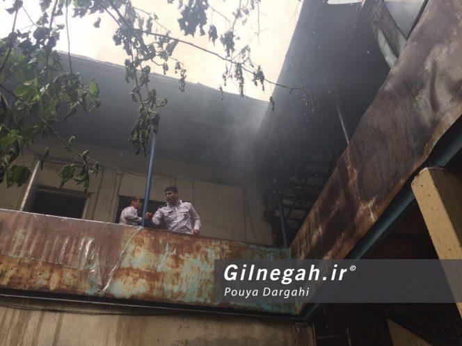 آتش سوزی بازار پاساژ قدیری رشت (4)