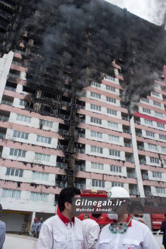 آتش سوزی برج طاووس منطقه آزاد انزلی (34)