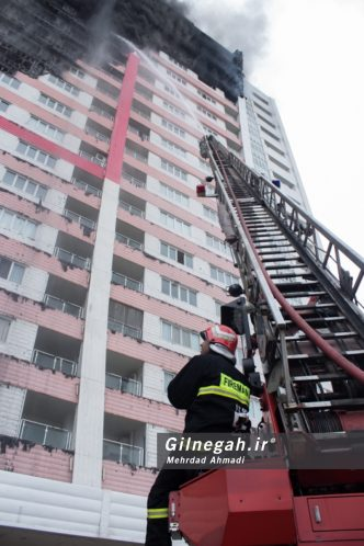 آتش سوزی برج طاووس منطقه آزاد انزلی (43)