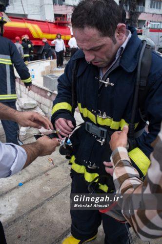 آتش سوزی برج طاووس منطقه آزاد انزلی (56)