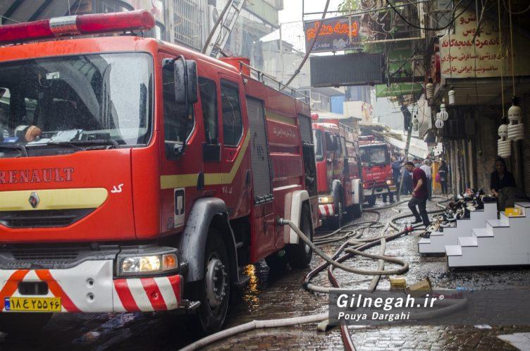 آتش سوزی خیابان شیک رشت بازار (11)