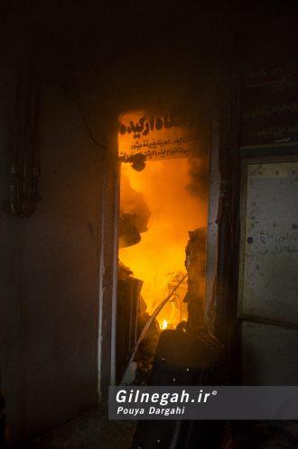 آتش سوزی خیابان شیک رشت بازار (14)