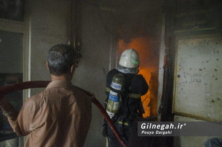 آتش سوزی خیابان شیک رشت بازار (15)