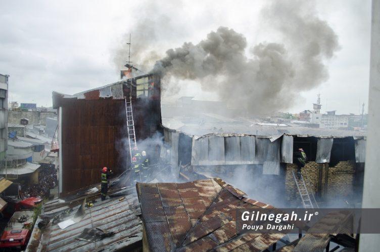 آتش سوزی خیابان شیک رشت بازار (23)