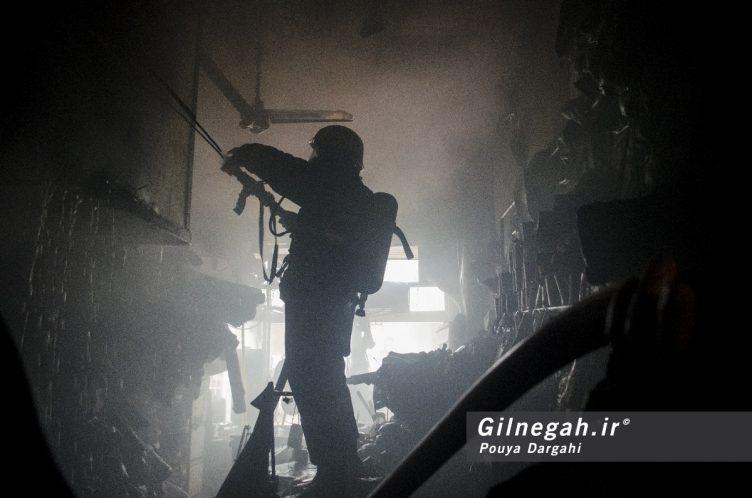 آتش سوزی خیابان شیک رشت بازار (31)