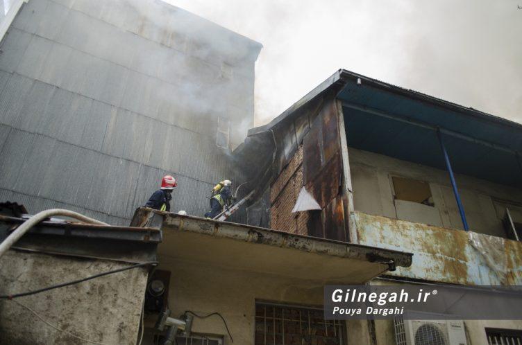 آتش سوزی خیابان شیک رشت بازار (6)