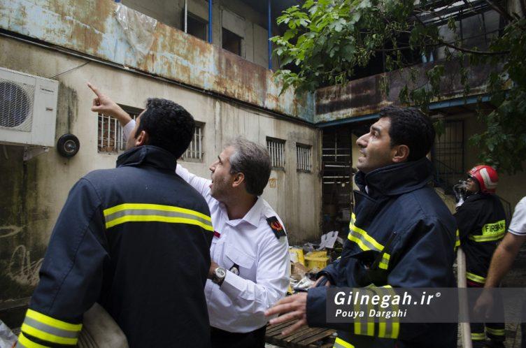 آتش سوزی خیابان شیک رشت بازار (7)