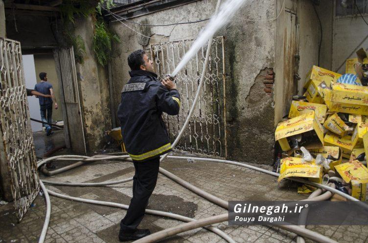 آتش سوزی خیابان شیک رشت بازار (8)