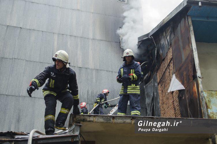 آتش سوزی خیابان شیک رشت بازار (9)
