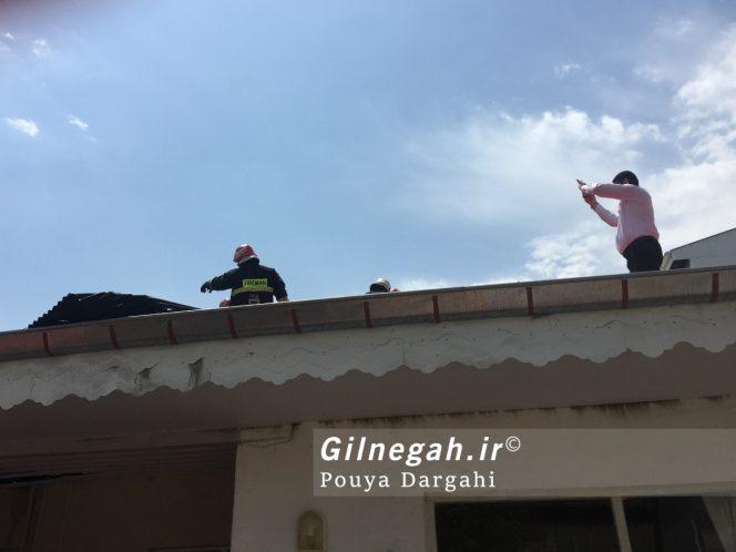 آتش سوزی چهاربرادران صومعه بیجار (2)