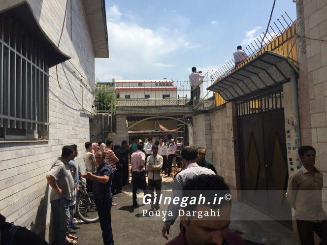 آتش سوزی چهاربرادران صومعه بیجار (4)