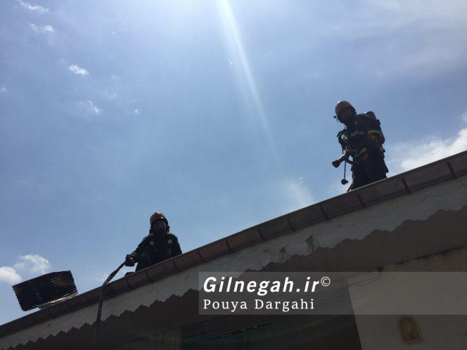 آتش سوزی چهاربرادران صومعه بیجار (6)