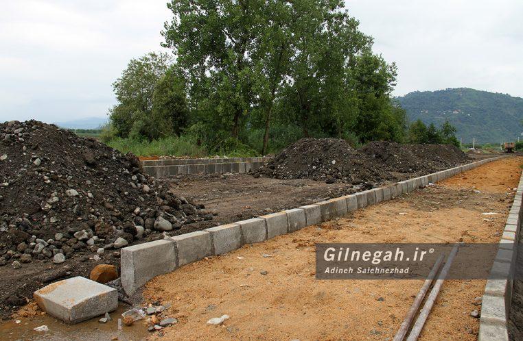 بازدید معاون استاندار از پروژه های در حال اجرا در لنگرود (7)