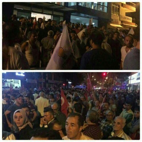 ترکیه کودتا اعتراض مردم