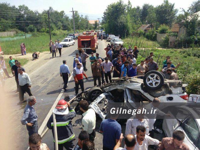 تصادف آزرا و سمند در بوئین فومن (5)