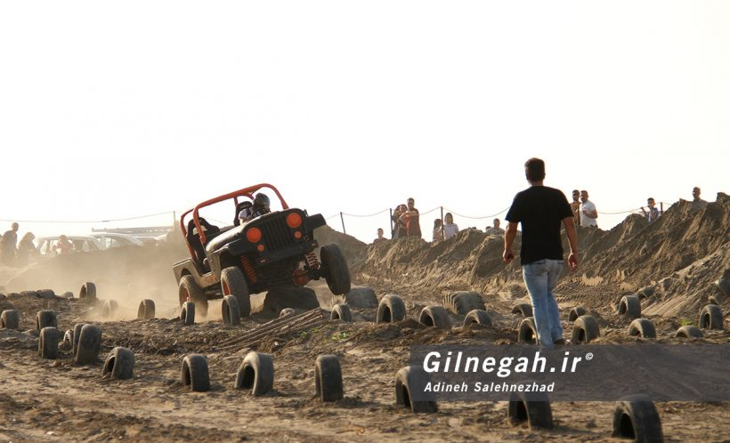 تمرین آفرود گیلان ساحل کلاچای (12)