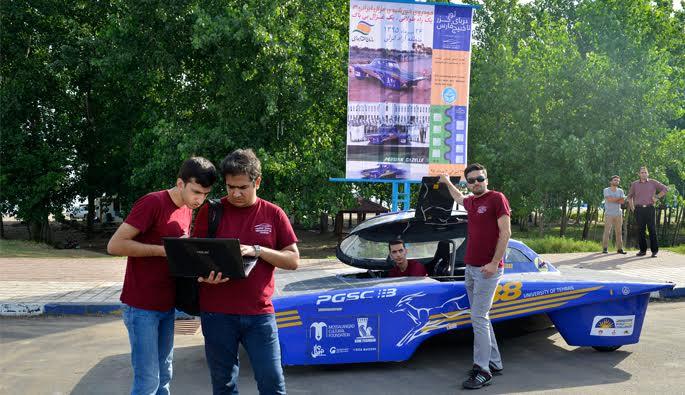 خودروی خورشیدی غزال ایرانی ۳