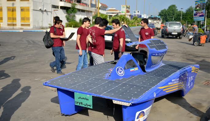 خودروی خورشیدی غزال ایرانی 1۳»