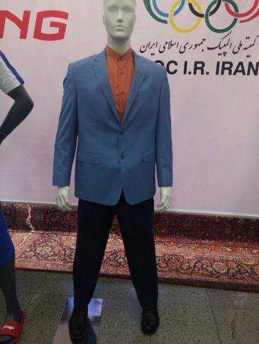لباس رژه کاروان ایران در المپیک