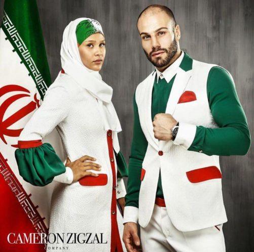 لباس نهایی ایران در المپیک ریو1
