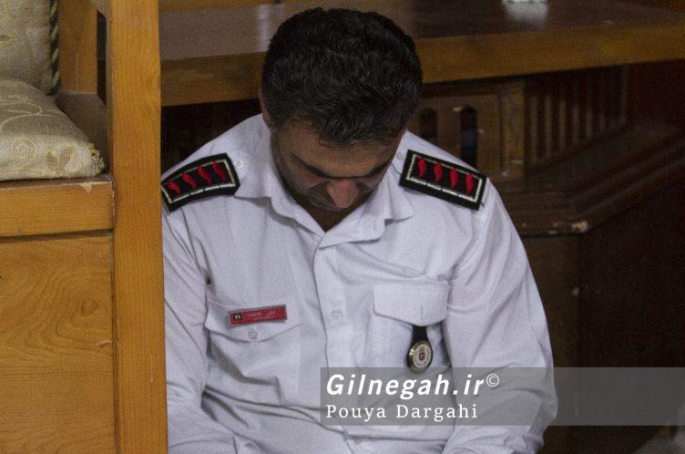 مراسم یادبود آتش نشان فداکار شهید علی قانع در رشت (14)