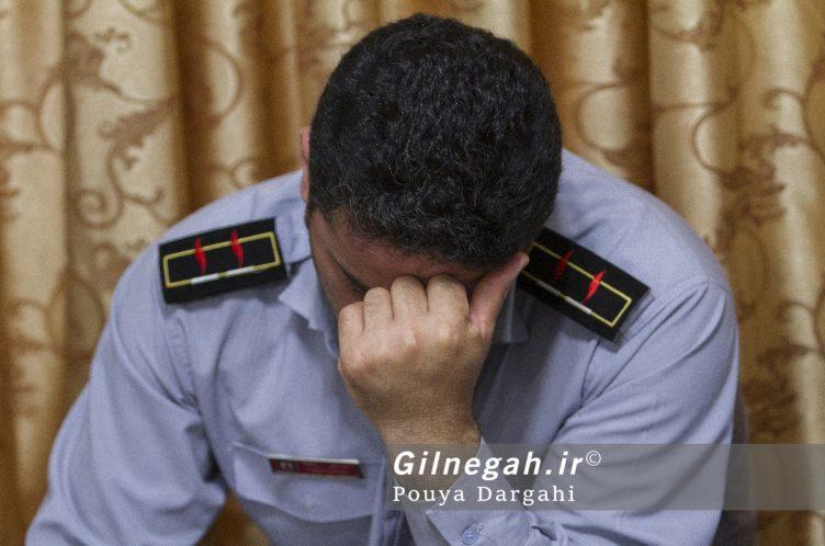 مراسم یادبود آتش نشان فداکار شهید علی قانع در رشت (15)