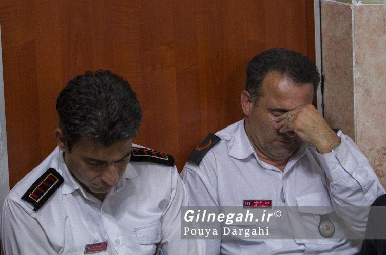 مراسم یادبود آتش نشان فداکار شهید علی قانع در رشت (16)