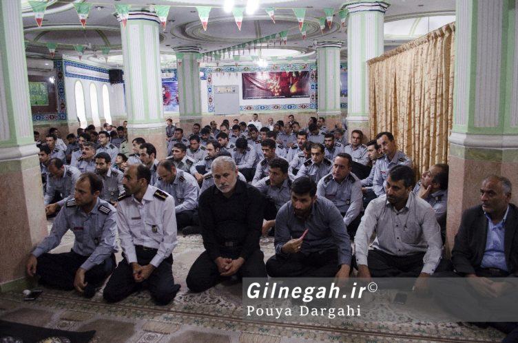 مراسم یادبود آتش نشان فداکار شهید علی قانع در رشت (2)