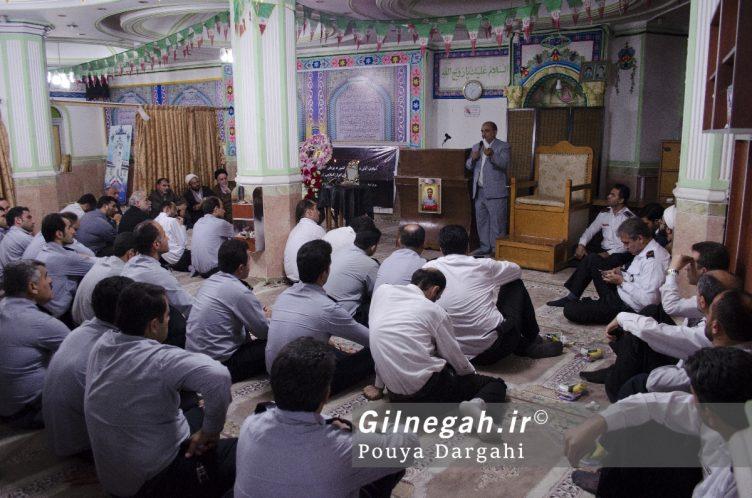 مراسم یادبود آتش نشان فداکار شهید علی قانع در رشت (3)
