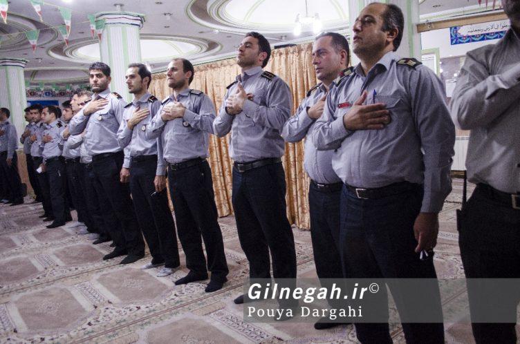 مراسم یادبود آتش نشان فداکار شهید علی قانع در رشت (6)