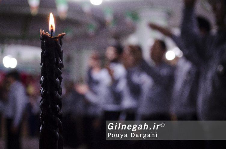 مراسم یادبود آتش نشان فداکار شهید علی قانع در رشت (7)