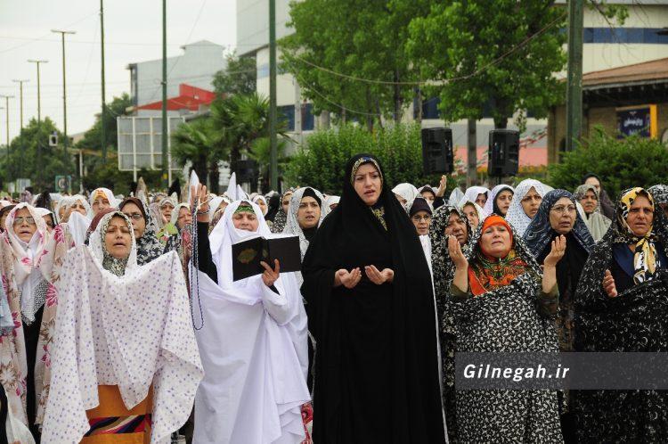 نماز عید فطر رشت (2)