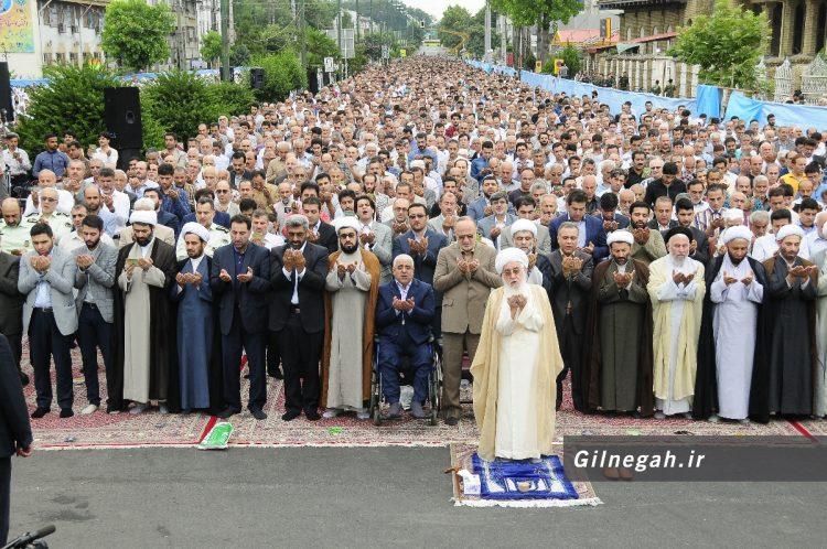 نماز عید فطر رشت (8)