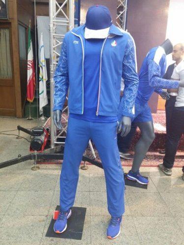 گرمکن ورزشکاران ایران در المپیک ریو