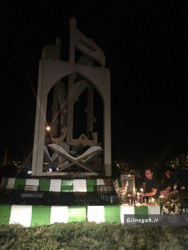 یادبود عباس کیارستمی در رستم آباد (6)